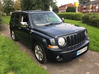 Jeep Patriot 2.0 CRD LIMITED (blue) 2007