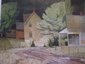 "Initialed A. J. Casson-""Sun After Thunder"" Artists Proof Kitchener / Waterloo Kitchener Area image 9"