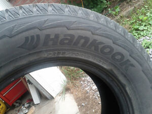FALL SPECIAL Set of P255/70R18 Hankook I Pike