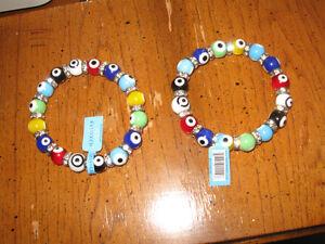 2 Kalifano glass bracelets. West Island Greater Montréal image 2