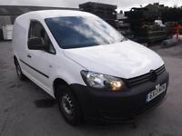 VOLKSWAGEN CADDY C20 TDI 75, White, Manual, Diesel, 2013