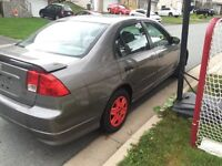 2005 Honda Civic w/ 2 yr inspection new parts + tires