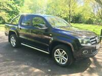 Used, 16 VW AMAROK TDI AUTO HIGHLINE 4WD PICKUP IN BLACK,FULLY LOADED for sale  Ince, Manchester