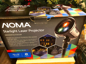 Starlight Laser projector with remote control