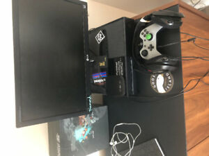 Xbox One (Refurb) - LG monitor - Scuff Gaming Controler-AstroA50