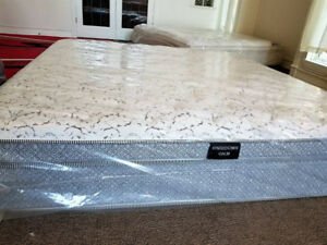 Kingsdown New King Bed Euro Top + Free Box