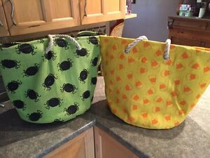 Very large Halloween bags/totes