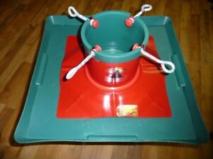 XMAS TREE STAND WITH HOLDING TRAY