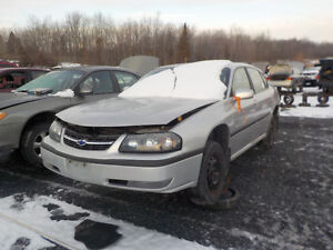 2002 Chevrolet Impala Now Available At Kenny U-Pull Cornwall