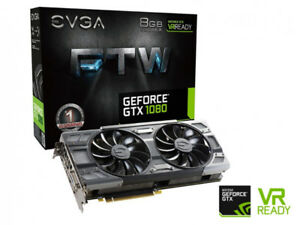 Selling Evga FTW3 gtx 1080 mint condition less than 1 year old
