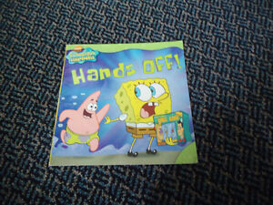 SpongeBob SquarePants: Hands Off! Paperback