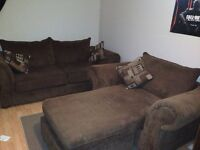 Couch and chair excellent condition