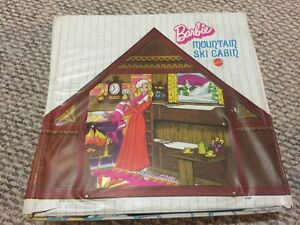 Vintage Barbie Camp Cabin Pop-up Case from 1970's