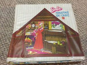 Vintage Barbie Camp Cabin Pop-up Case from 1970's