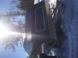 2014 Hybrid snowmobile trailer