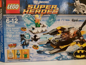 Two Lego Super heroes sets
