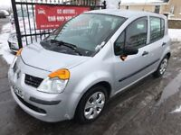 2006 RENAULT MODUS 1.4, 64000 MILES, 1 OWNER, WARRANTY, NOT MERIVA CMAX NOTE MICRA POLO
