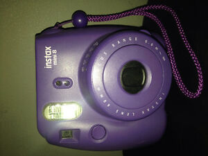 Fujifilm Instax Mini 8 Camera Dark Purple