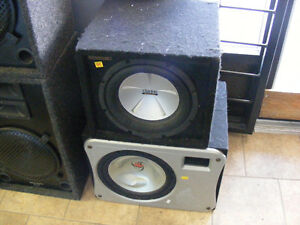 Carpeted Speaker Box with Sub Spkrs Sale