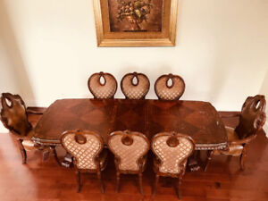 [Moving Sale] Michael Amini/Aico Dining Tables & Sets