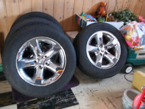 20 inch ram Michelin Tires and RIMS complete or separate