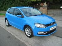 VOLKSWAGEN POLO 1.0 STOP/START SE BLUEMOTION £20 ROAD TAX