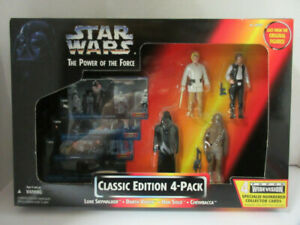 Star Wars Power of the Force Classic Edition 4 Pack