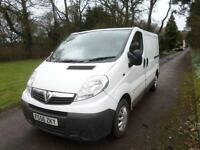 Vauxhall Vivaro 1.9 CDTI 6 SPEED SWB 2.9T 110K DIRECT BT 56 REG