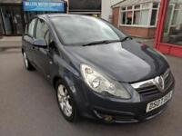 2007 VAUXHALL CORSA 1.2i SXi - PETROL - MANUAL - 5 DOOR - BLUE/GREY