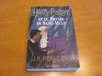 Harry Potter et le Prince de Sang-Mêlé **Tome 6**