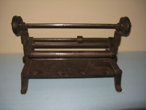 Antique leather splitter