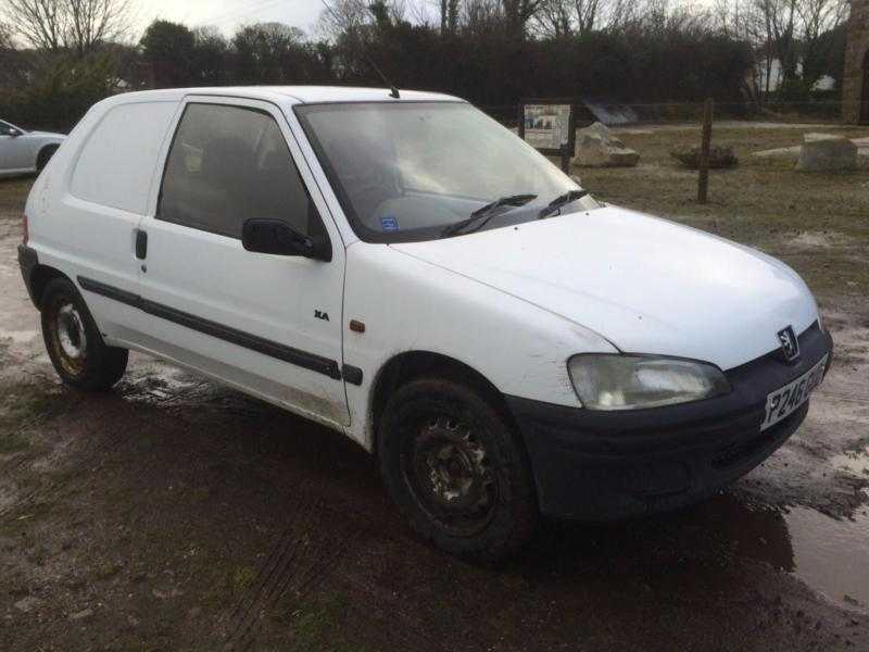 p reg peugeot 106 1 5d xad van new mot in chacewater cornwall gumtree. Black Bedroom Furniture Sets. Home Design Ideas