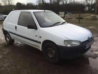 P Reg Peugeot 106 1.5D XAD Van New Mot