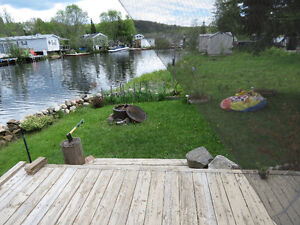 Muskoka Waterfront Park Model Trailer with Add a Room
