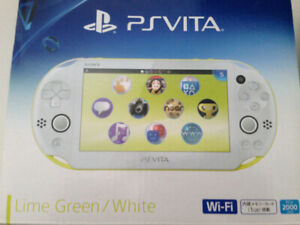 PlayStation Vita Lime Green / White