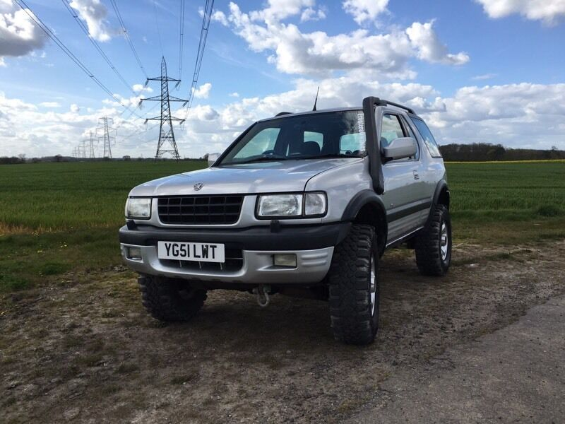vauxhall frontera rs sport 2 2 dti 4x4 off roader in grimsby lincolnshire gumtree. Black Bedroom Furniture Sets. Home Design Ideas