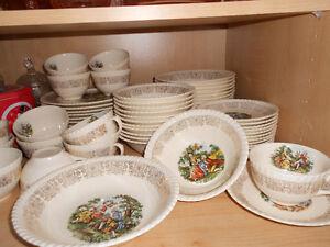 vaisselle antique 22k