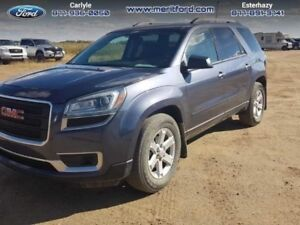 2014 GMC Acadia SLE-2  - local - trade-in - sk tax paid