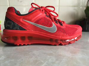 Nike Airmax+ HYPER Red Reflect Silver Anthracite Running Shoes