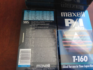 VCR Blank Tapes