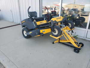 CLEARANCE ON ALL MOWERS
