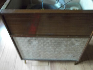 Marconi cabinet record player
