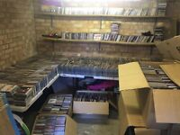 Over 5000 CD albums used.
