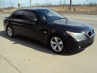 2005 BMW 5-Series 530 I Sedan ** WE FINANCE ** 6 SPEED ** RARE *