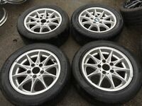 16 BMW alloy wheels alloys rims tyres tyre 2255016 5x120 bargain
