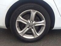 """Original 17"""""""" Alloy wheels of Audi A4 2013"""