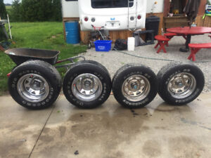 Rims and Tires off Dodge Charger