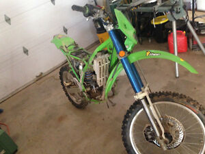 1998 KDX 220 for sale or trade