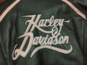 *NEW* LADIES HARLEY LEATHER JACKET !