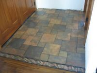 Tile install / les tuiles!